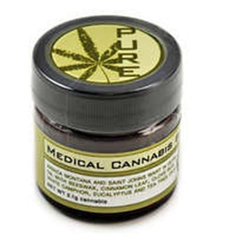 marijuana ointment for arthritis pure medical cannabis balm elemental wellness medical