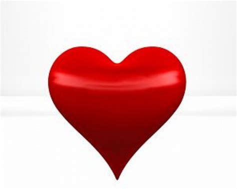 red hearts in 3d photo free download