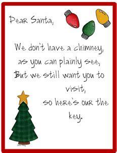 printable christmas key santa s key poems the idea door