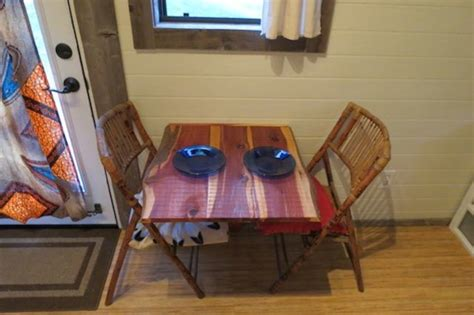 tiny home dining table ben s tiny house for sale near