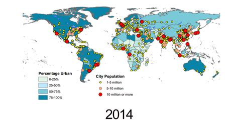 how many towns are in the us how many people will live in cities in 2045 lifegate