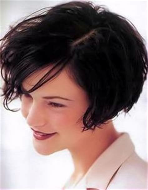 ear length bob wavy curly hair ear length on pinterest asymmetrical pixie