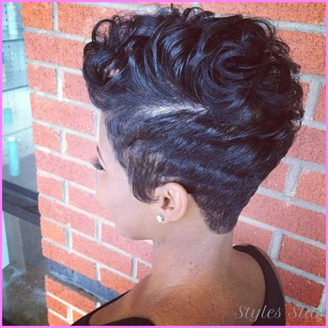 Black Hair Style Front Back by Haircuts Black Front And Back Stylesstar