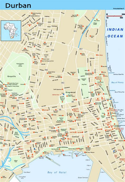 Maps of Durban Streets images