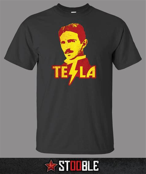 nikola tesla t shirt direct from stockist ebay