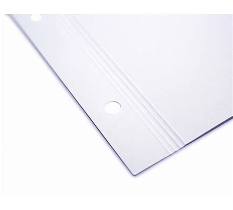 Pre Punched Craft Paper - 14 quot x11 quot pre punched matte inkjet paper for screwpost