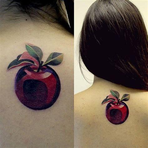 watercolor tattoo sasha unisex apple watercolor by unisex