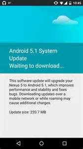 android 5 1 1 update officially rolls out android 5 1 lollipop ota update to nexus 5 in india how to install