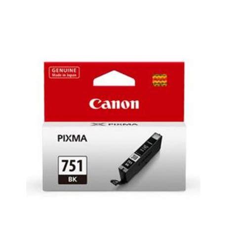 Canon Cartridge Cli 751bk ph co pc depot canon cli 751bk black ink cartridge