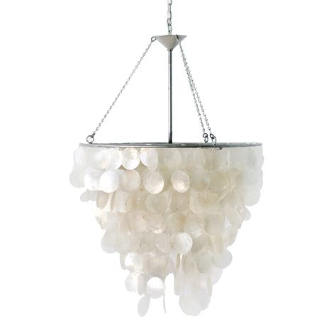 Worlds Away Chandelier Worlds Away Capiz Shell Chandelier