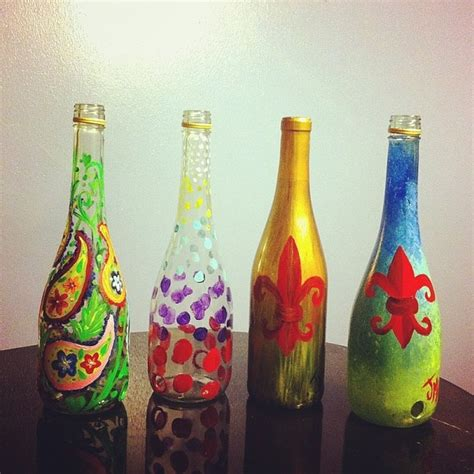 70 best decorated glass images on pinterest