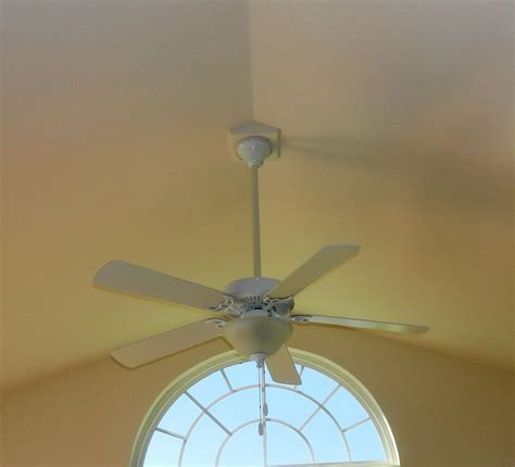 ceiling fans for cathedral ceilings vaulted ceiling fan mount home design ideas