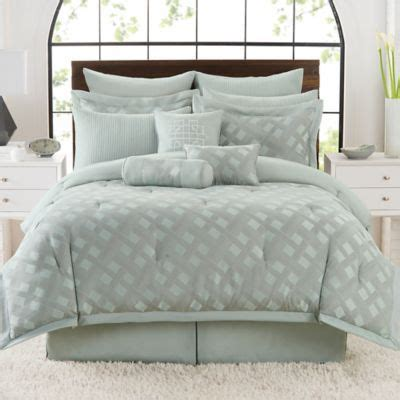 used comforter sets satin lattice comforter set bedbathandbeyond com 106x92