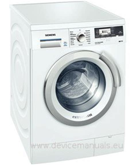 Siemens Waschmaschine Iq 790 3953 by Waschmaschine Siemens Wm14s890 Iq790 Benutzerhandbuch