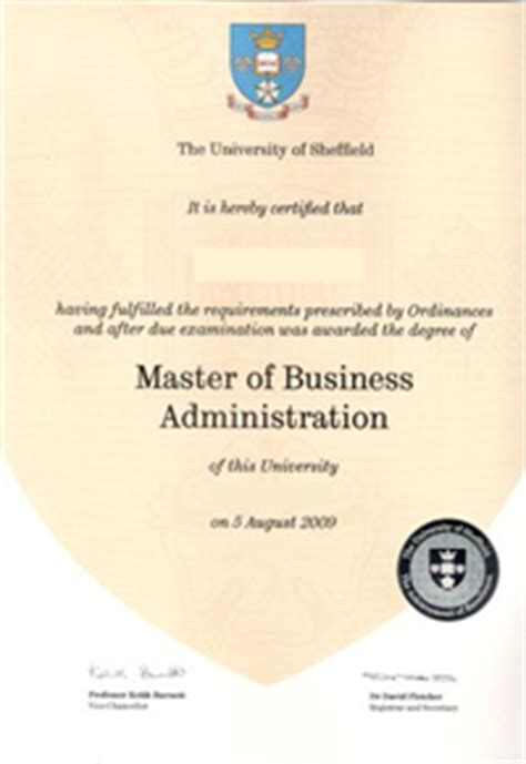 Mba Degree Uk by Degree And Formal Qualifications The Of