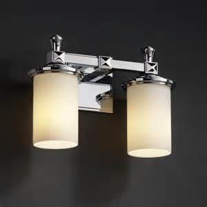 deco bathroom lighting fixtures fusion deco two light bath fixture contemporary