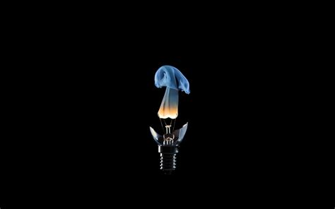 wallpaper black light hd black background digital art light bulbs walldevil