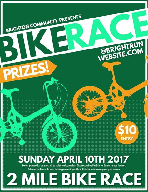 graphic design competition online bike race competition poster flyer social media graphic