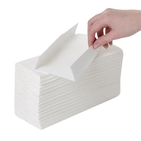 ply white luxury  fold hand towel