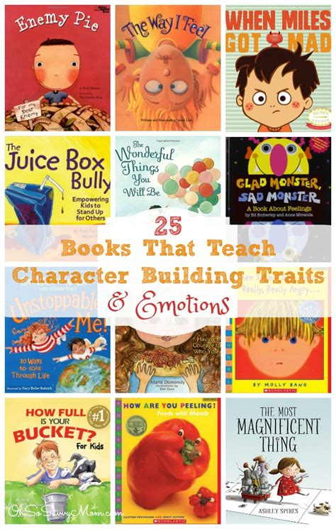 picture books for teaching character traits 25 children s books that teach emotions and character