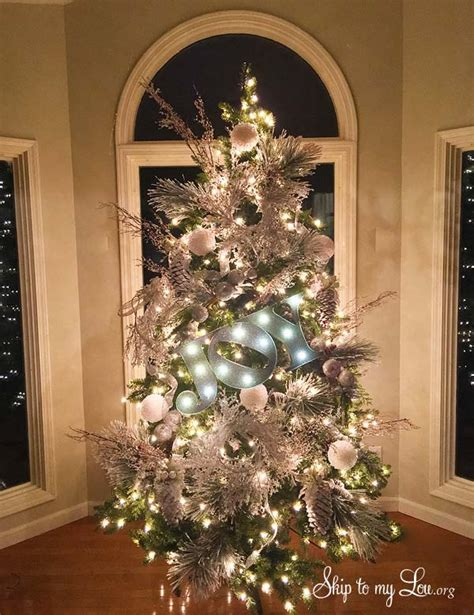 photo of the most beautifully decorated christmas tree beautiful trees skip to my lou