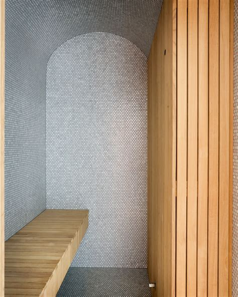 penny bathroom penny tile bathroom floor bathroom transitional with