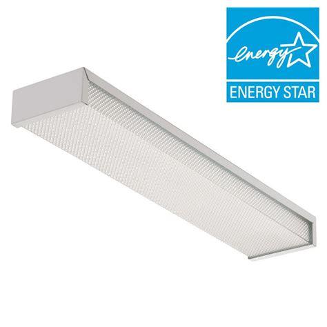 lithonia lighting 2 light white fluorescent flushmount