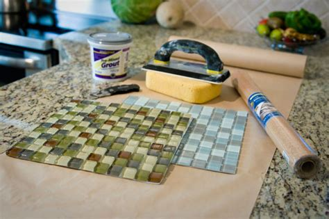 How To Make Coasters Out Of Tiles And Scrapbook Paper - diy glass tile coaster kirksle