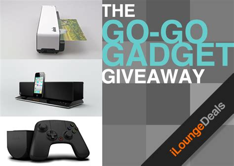 Gadget Giveaway - daily deal gogo gadget giveaway ilounge news