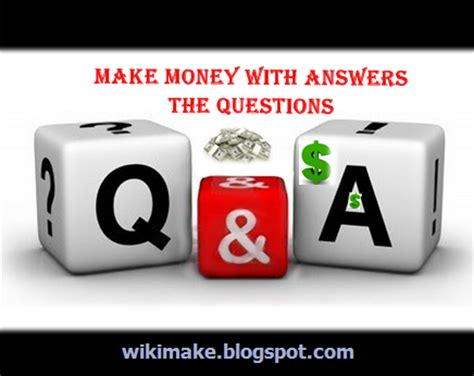 Make Money Answering Questions Online - online money making by answering a question pay survey and research unit