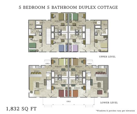 Duplex House Plans 5 Bedrooms 3 Bedroom Duplex Floor Plans 5 Bedroom Floorplans