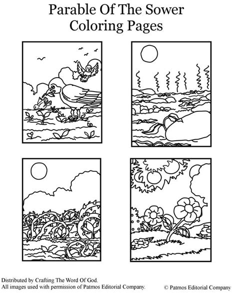 jesus teaching parables coloring pages coloring pages