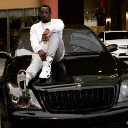 P Diddy Lamborghini Truck P Diddy Sits On The Of His Maybach Cars