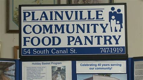 Plainville Food Pantry plainville food pantry sets fundraiser tribunedigital