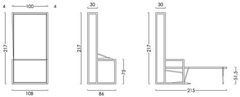 letto a ribalta verticale letto a scomparsa singolo autoportante con ribalta