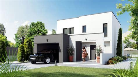 Modele Maison Moderne by Plan Et Mod 232 Le De Maison Contemporaine Et Traditionnelle