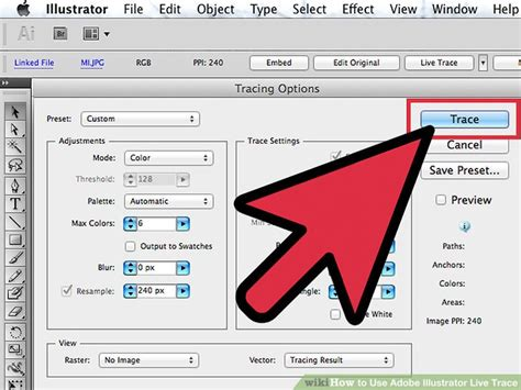 tutorial illustrator live trace how to use adobe illustrator live trace 7 steps with