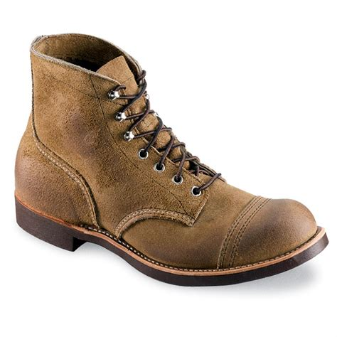 ranger boots s wing 174 iron ranger boots 148408 work boots at