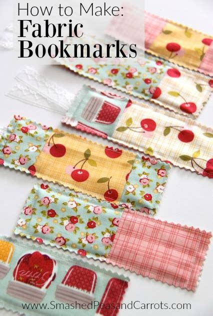 how to make upholstery how to make fabric bookmarks smashed peas carrots