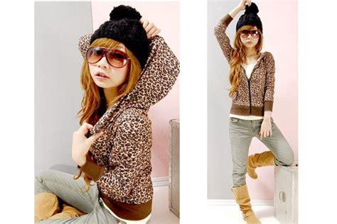 Hoodie Mosh And Rock On Leo Cloth vintage leo hoodie jacke braun absurd clothing de