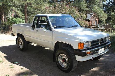 Toyota 4x4 1988 Purchase Used 1988 Sr5 Toyota Cab 4x4 48000