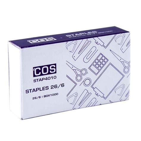 Complete Office Supplies by 26 6 6mm Staples Stap4010 Cos Complete Office Supplies