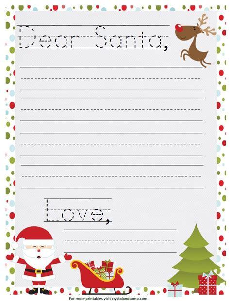 santa letter template freeadorablesantalettertemplatemamachallenge 16 free letter to santa templates for kids printable