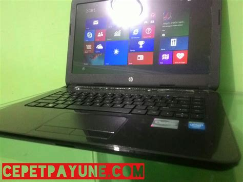 Laptop Hp R204tu 14 Ram 2 Gb laptop hp 14 r204tu intel n 2840 mulus 97 like new jual