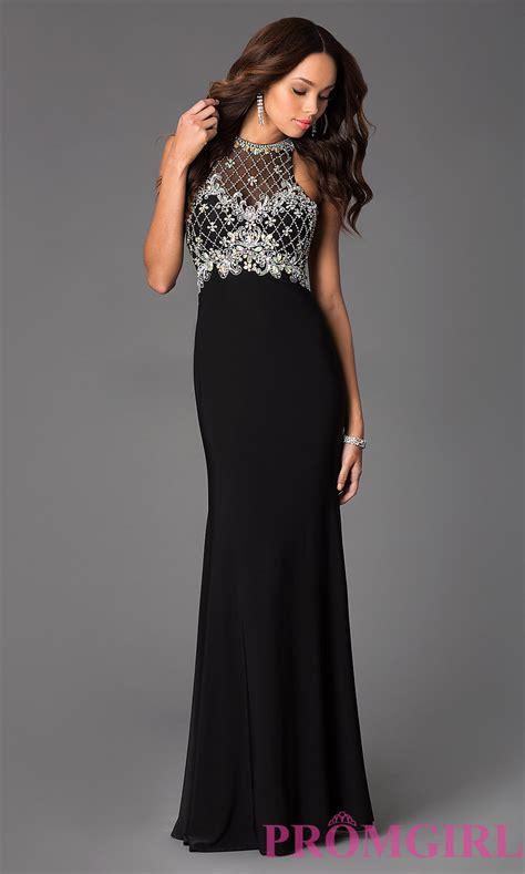 formal beaded dresses beaded illusion prom dress