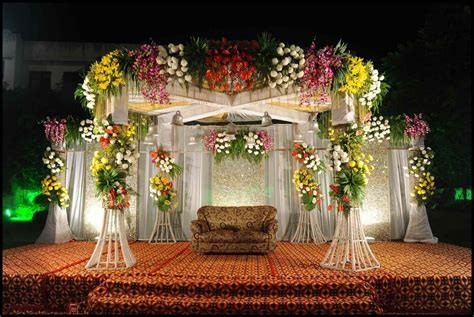 Indian Wedding Reception Decorations   0251 1024x685
