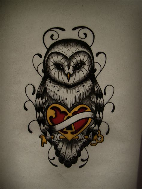 simple owl tattoo design owl on owl tattoos owl design and owl