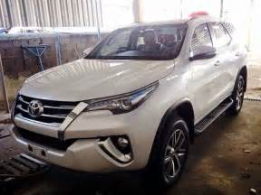 new toyota cars in india new toyota fortuner 2016 india launch date price in india