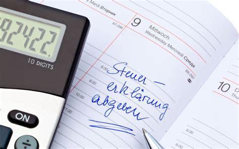 bis wann muss nebenkostenabrechnung vorliegen steuererkl 228 rung bis wann einreichen