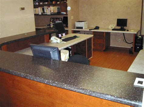 countertop desk for office d s custom countertops photo gallery laminate